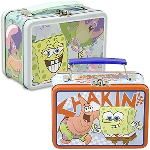 1 X Tote Box Spongebob Lunch Tote (Designs may vary)