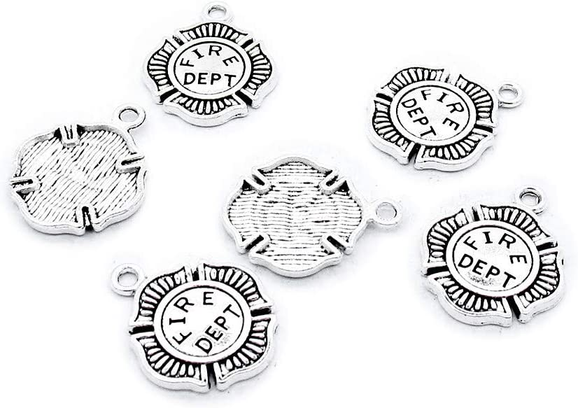 210 Pieces Antique Silver Tone Jewelry Crafting Making Ranking TOP7 Selling rankings Be Charms