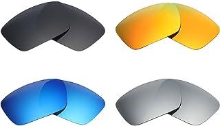 d8fed601a0 MRY 4 pares polarizadas lentes de repuesto para Oakley Fuel Cell  sunglasses-stealth negro/