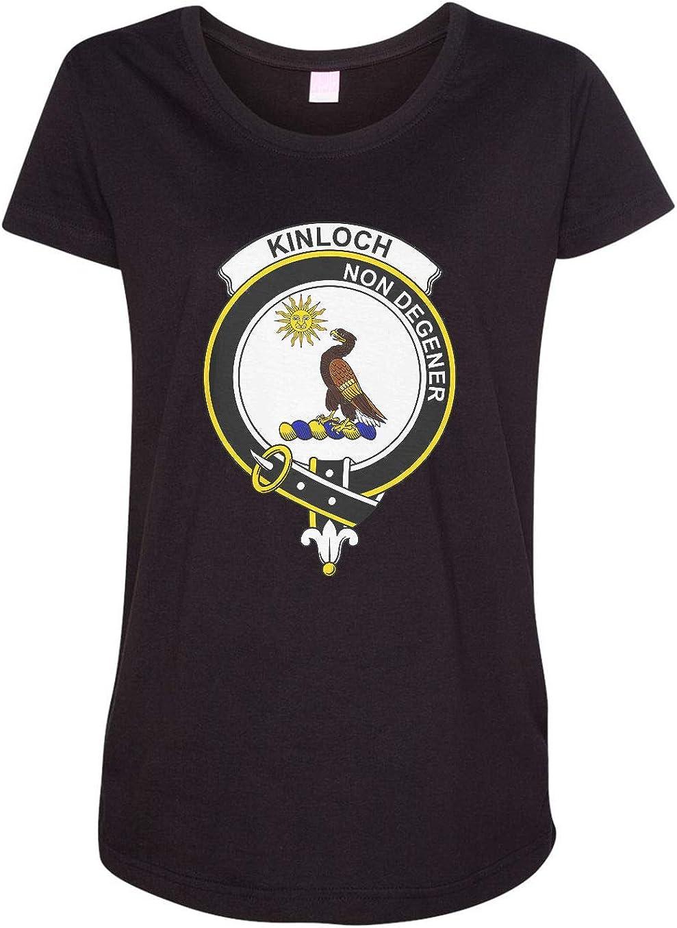 HARD EDGE DESIGN Women's Scottish Clan Crest Badge Kinloch T-Shirt