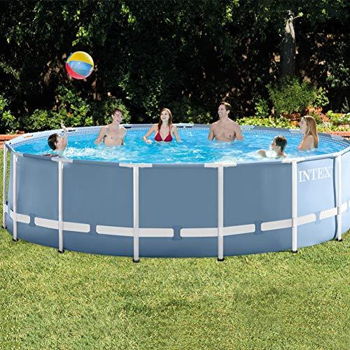 Intex Prism Frame Above Ground Swimming Pool 15 feet x 48
