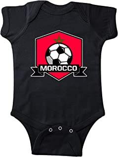 inktastic Soccer Morocco Flag Banner Infant Creeper
