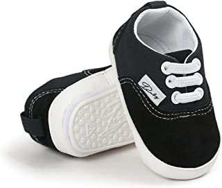 Baby Boys Girls Shoes Canvas Toddler Sneakers Anti-Slip...
