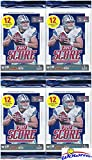 2017 Score NFL Football Collection of FOUR(4) Factory Sealed Packs with 48 Cards! Loaded with ROOKIES & INSERTS! Look for RCS & AUTOS of Patrick Mahomes, Des... rookie card picture