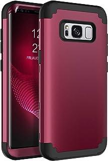 "BENTOBEN Case for Galaxy S8 5.8"", Heavy Duty Full Body Rugged Shockproof Hybrid Three Layer Hard Plastic Soft Rubber Bumpe..."