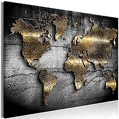 murando - Bilder Weltkarte 120x80