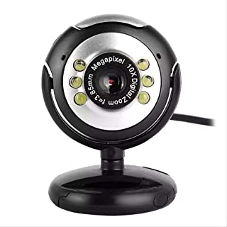 HD Video Webcam Camera with Microphone Night Vision Web Cam for Pc Laptop Web Camera Pc Webcam Video Calling Computer Camera