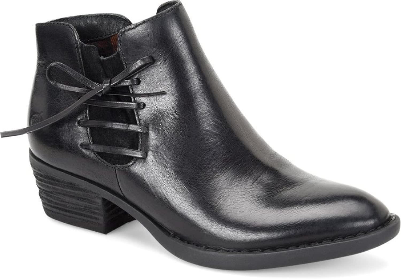 Born Frauen Pumps Pumps Rund Leder Western Stiefel  Wir bieten verschiedene berühmte Marke