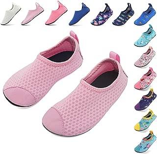 Coolloog Toddler Baby Water Shoes Kids Swim Soft Sole Shoes First Walker Barefoot Skin Infant Toddler Moccasins