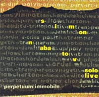 Perpetuum Immobile-Solo Piano Live