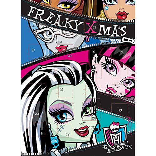 Monster High Adventskalender - Schokolade