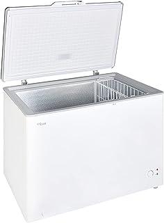 Super General Chest-Freezer 350 Liter Gross Volume, SGF 344H, White, Rectangular Deep-Freezer with Storage-Basket, Lock & ...