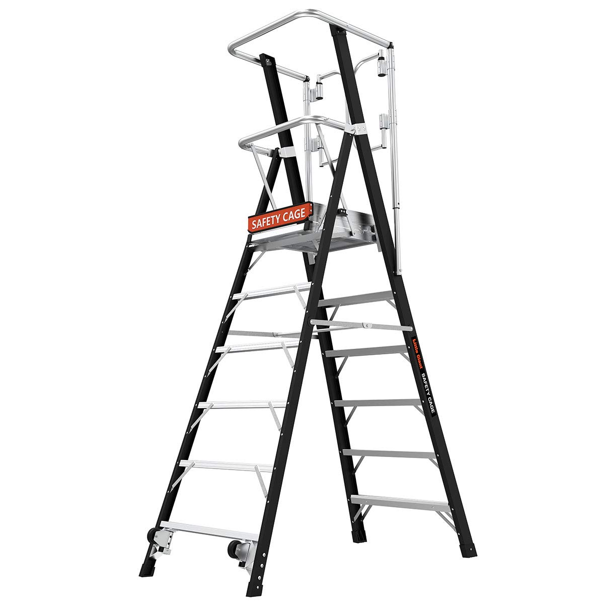 Poco gigante escalera sistemas 19606 jaula de seguridad 6 6: Amazon.es: Bricolaje y herramientas