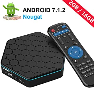 EASYTONE T95Z Plus Android TV Box Android 7.1 HD Player Amlogic S912 Media Box Octa Core 2GB DDR3 16GB Emmc 5Ghz WiFi 1000...