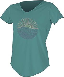 O'Neill Women's Shortsleeve Graphic Scoop Neck Sun Shirt