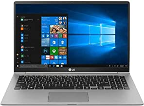 "LG 15.6"" gram Full HD IPS Touchscreen MIL-Spec Notebook Computer, Intel Core i7-8550U 1.80GHz, 16GB RAM, 512GB SSD, Windows 10 Home, Dark Silver"