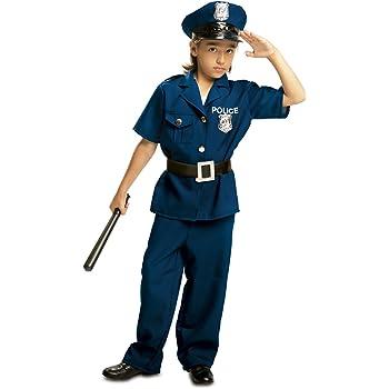 My Other Me - Disfraz de Policía para niño, talla 7-9 años (Viving ...