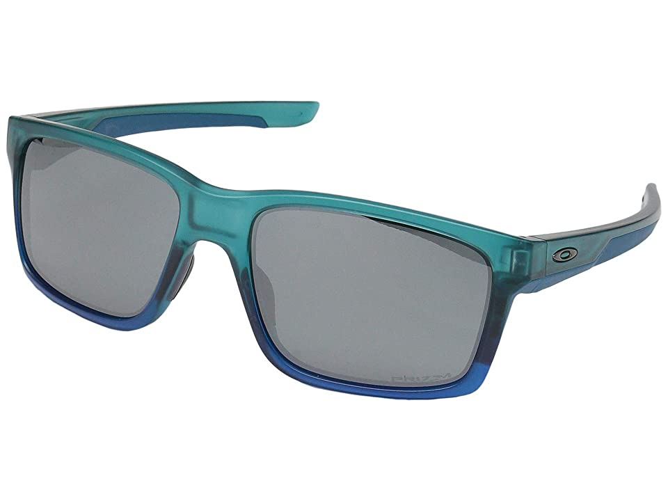 Oakley Mainlink (Arctic Mist w/ Prizm Black) Plastic Frame Fashion Sunglasses