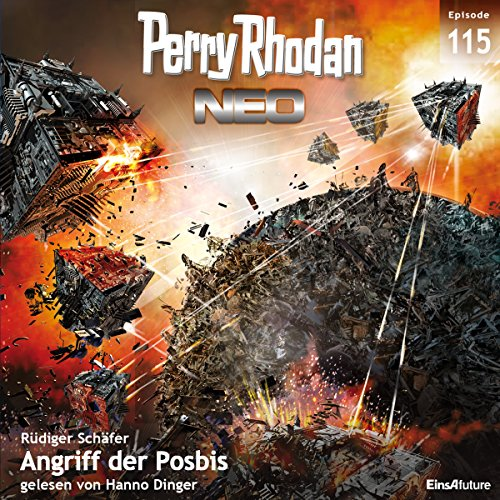 Angriff der Posbis (Perry Rhodan NEO 115) audiobook cover art