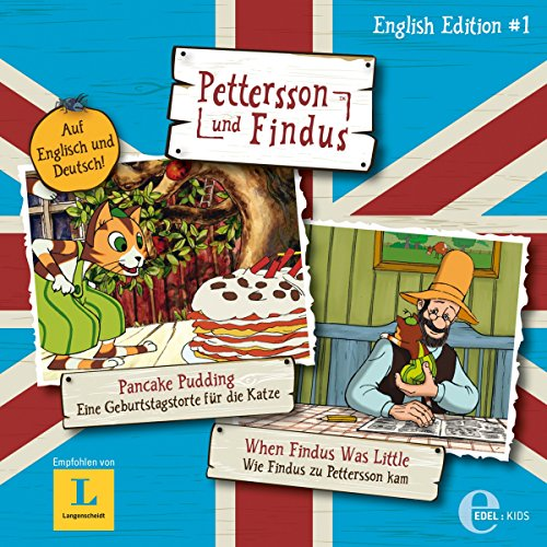 Pancake Pudding / When Findus Was Little (Pettersson und Findus English Edition 1) Titelbild