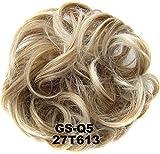 Chignons synthétiques élastiques bouclés, extensions de cheveux ruban, queue de cheval, chignon, chignon pour femme, beauté, mariage