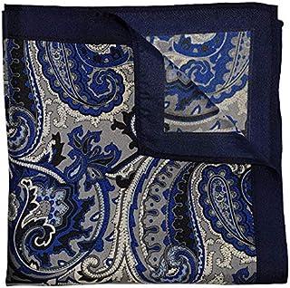 The Blue Edison Silk Pocket Square