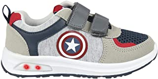 CERDÁ LIFE'S LITTLE MOMENTS Cerdá-Zapatilla con Luces Avengers de Color Gris, Niños