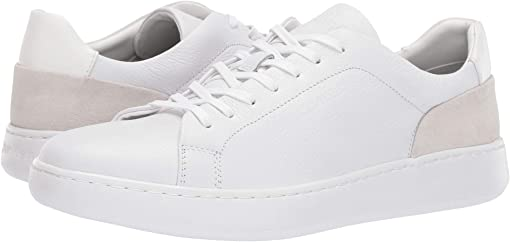White Soft Tumbled/Nappa Calf/Calf Suede
