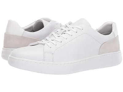 Calvin Klein Fuego (White Soft Tumbled/Nappa Calf/Calf Suede) Men