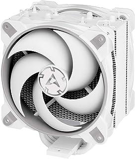 ARCTIC Freezer 34 Esports Duo - Ventola de CPU, Enfriador de CPU Push-Pull, Motor Silencioso, Desde 200 hasta 2100 RPM, 2 Ventiladores PWM 120mm - Gris/Blanco