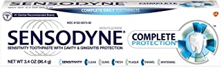 Sensodyne Complete Protection Toothpaste for Sensitive Teeth, 3.4 Ounce Tube