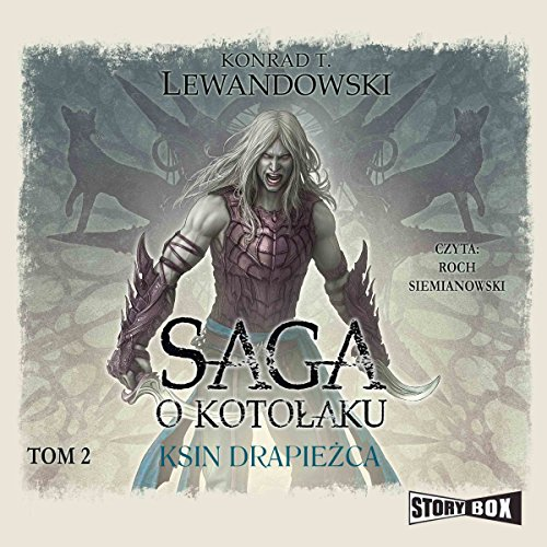 Ksin drapieżca audiobook cover art
