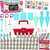 Cakebe 68 pcs Cake Decorating Set - Baking Supplies - Icing Piping Set