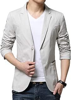 Best mens casual cotton blazer Reviews