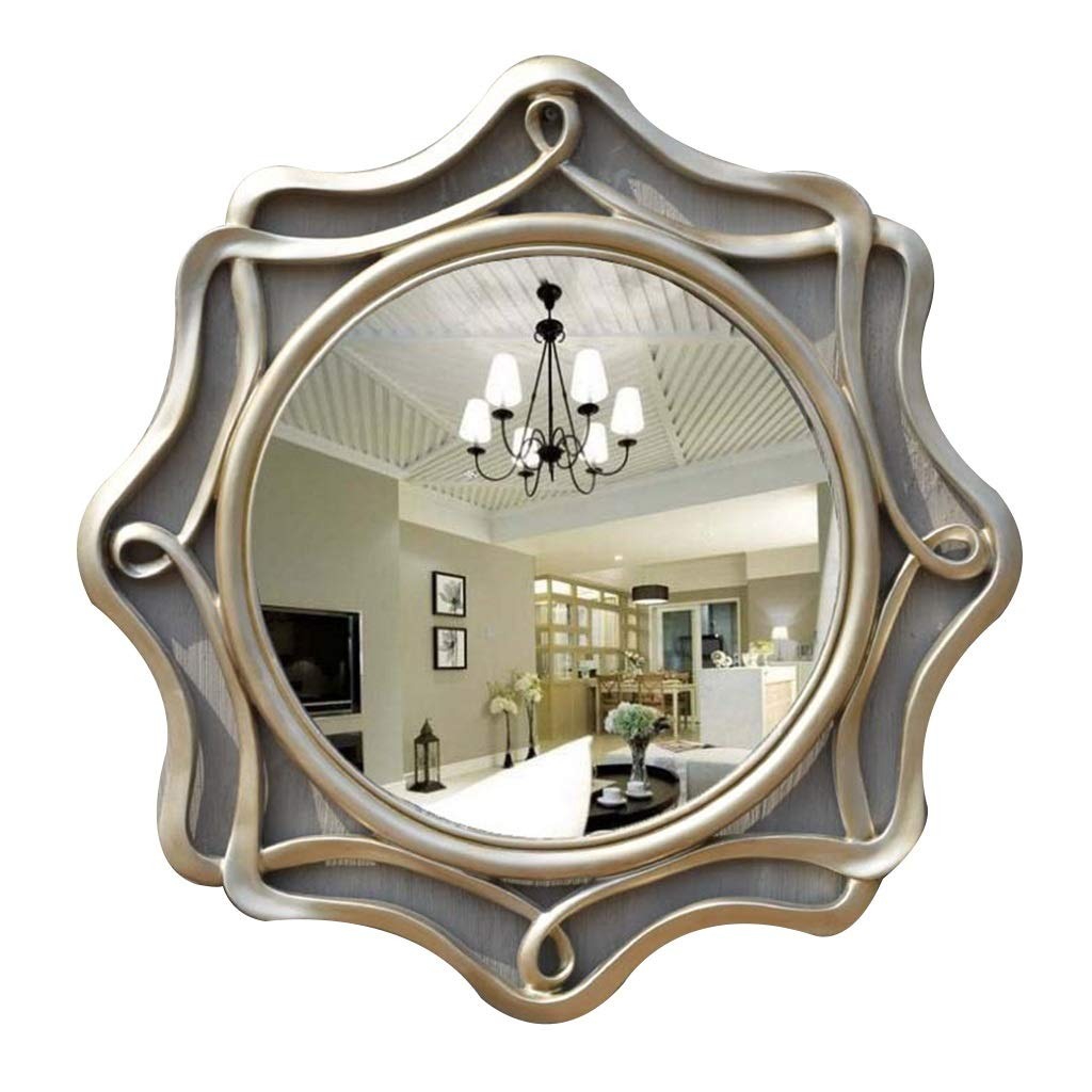 Beauty Our shop OFFers the trend rank best service mirror Wall Hanging Mirror with Fitting Fixed Vintage Wa