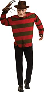 Men's A Nightmare On Elm Street Plus Size Freddy Costume