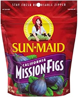 Sun Maid California Mission Figs Easy To Open Tear Away Packaging 7 oz