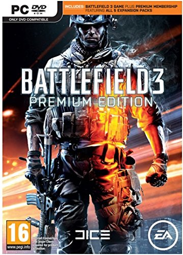 Battlefield 3 Premium Edition (PEGI) - PC - Software
