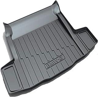 Rubber Rear Cargo Liner Boot Mats Car Tailored Car Trunk Tray Floor Mat Sheet Carpet Waterproof for B-M-W 6Series/X1/X5/5S...