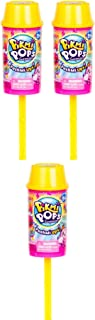 Pikmi Pops Surprise SEASON 2 - PUSHMI UPS - This PushMi Ups Lets You Pop Out a Super-Cute Ice-Cream Scented Plushie with Lots of Confetti Fun! (Set of 3)