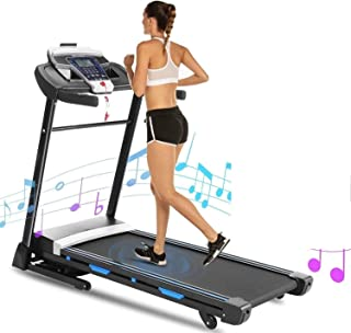 FUNMILY Treadmill, 3.25HP Treadmills for Home Motorized Running Machine with Smartphone APP Control and Bluetooth for Home Office Gym Cardio Fitness