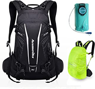 ANMEILU 20L Hydration Backpack, Hydration Pack for Hiking, Running, Cycling, Climbing and Outdoor Sports, with 2L Water Bladder Bag and Rain Cover
