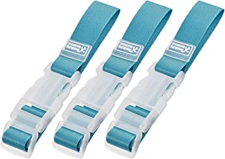 uxcell Add a Bag Luggage Straps, Adjustable Suitcase Connect Belts with Buckle, Nylon Travel Packing Accessories 320x25mm,...