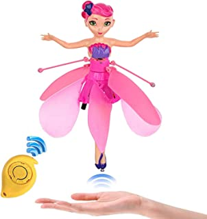Minaliv Flying Fairy Doll for Girls,RC Infrared Sensor Control Remote Control Child Toy Teen Toys Flying Princess Doll