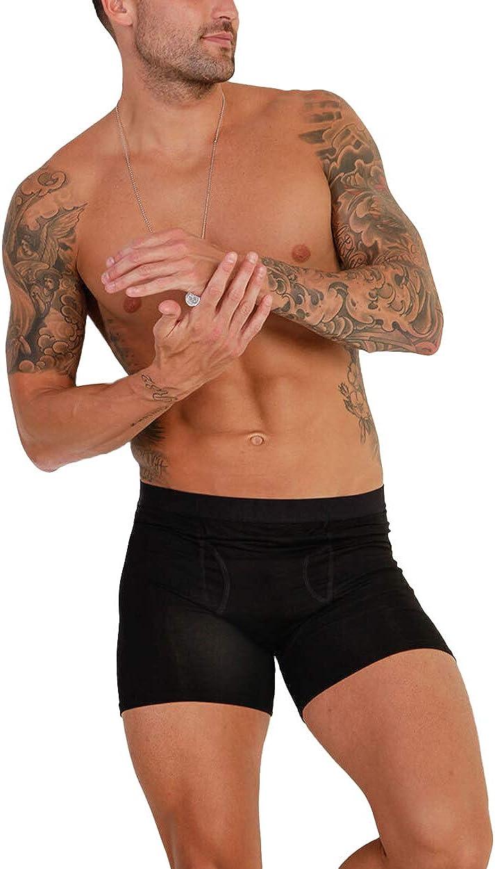 Men's Ultra-Soft Boxer Briefs w/ Secret Pocket Comfort & Function iHeartRaves