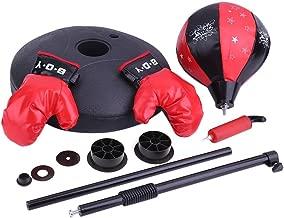 Hongyans Punchingball Boxen Set mit Boxhandschuhen /& Pumpe f/ür Kinder Jugend h/öhenverstellbar von 72 bis 108 cm