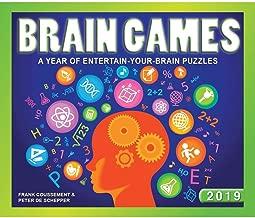 2019 Brain Games Desk Calendar, by Calendar Ink