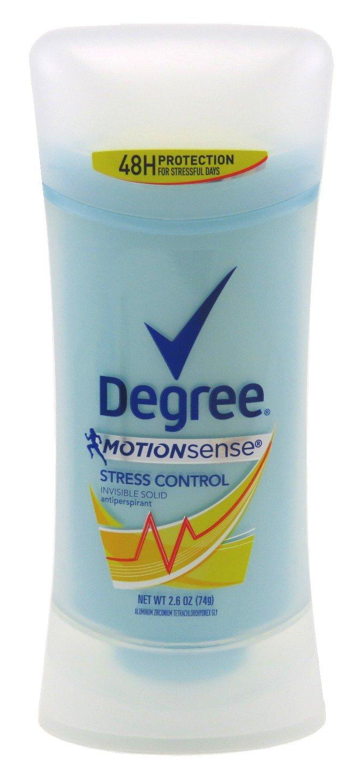 Degree cheap Deodorant 2.6 Ounce Womens Control Sense Direct store 7 Stress Motion