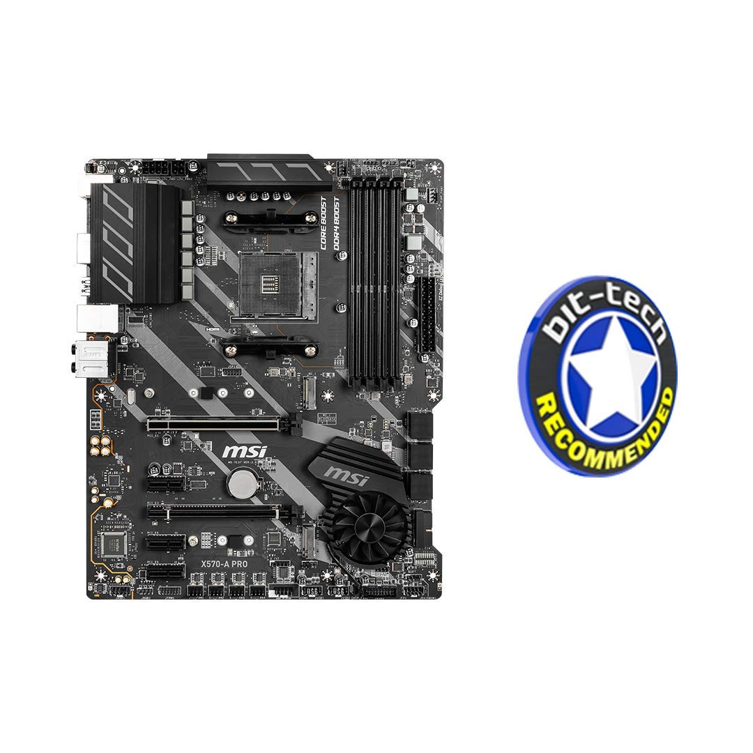 MSI X570-A Pro - Placa Base (Chipset AMD X570, DDR4, Core Boost ...