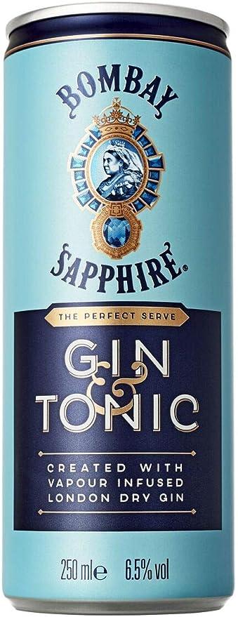 34 opinioni per Bombay Sapphire Gin & Tonic Ready to Drink- Confezione da 12 x 250 ml